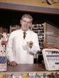 Pharmacist Behind Counter