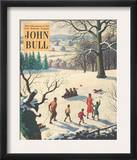 John Bull  Snow Ice Winter Seasons Magazine  UK  1950