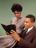 Young Couple Reading Bible