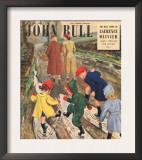 John Bull  Puddles Winter Magazine  UK  1949