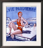 La Vie Parisienne  Glamour Womens Swimwear Fashion Magazine  France  1936