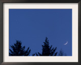 Venus and Moon Conjunction