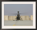 Rear View of a Oh-58D Kiowa Warrior at Camp Speicher  Iraq