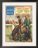 John Bull  Horse Racing Jockeys Magazine  UK  1952