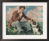 John Bull  A Man and His Pets  UK  1940