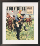 John Bull  Horse Racing Jockeys Magazine  UK  1948