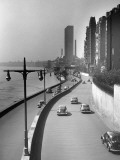 FDR Drive  East River and Bldgs  NYC