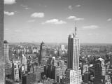 Usa  New York City  Cityscape (B&W)