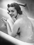 Naked Woman in Bathtub