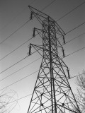Electricity Pylon  Low Angle View