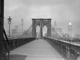 Brooklyn Bridge Pedestrian Walkway  NYC