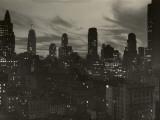 Manhattan Skyline at Night  NYC