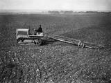Tractor and Harrow