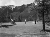 Golf By Mountains