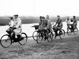 Towpath Cyclists