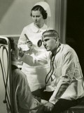 Doctor Examining Patient