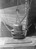 Moored Boat  Close-Up