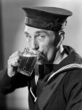 Sailor Drinking Beer