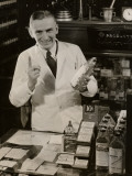 Pharmacist With Medicine