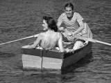Couple in Row-Boat