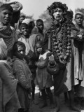 Group of Children and Hindu Beggars  India