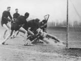 Men Playing Lacrosse