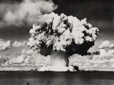 Nuclear Bomb Explosion  Baker Day Test  Bikini  25th July 1946
