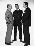 Three Men Talking