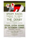 Epsom Races  BR  c1961
