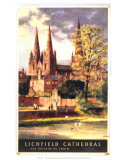 Lichfield Cathedral  BR  c1957