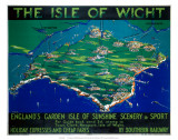 The Isle of Wight  SR  c1930