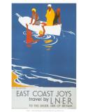 East Coast Joys No 4  Sea Bathing  LNER  c1931