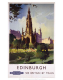Edinburgh: The Scott Monument  BR  c1950s