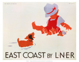 East Coast by LNER  LNER  c1935