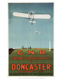 England's First Aviation Races at Doncaster  GNR  c1909