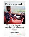 Manchester-London  This is the Way to Get Straight Down to Business  c1979