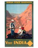 Indian State Railways: Visit India