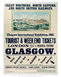 Glasgow International Exhibition  GNR/NER/NBR  c1901
