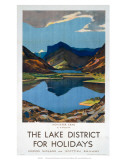 The Lake District for Holidays  LMS  c1923-1939