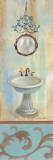 French Bathroom in Blue II