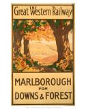 Marlborough for Downs & Forest  GWR  c1927