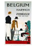 Belgium  Harwich  Zeebrugge  LNER  c1923-1947