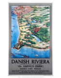 Danish Riviera via Harwich/Esbjerg  LNER  c1923-1947