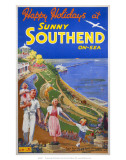 Sunny Southend-on-Sea  LNER/LMS  c1940s