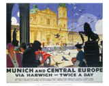 Munich and Central Europe  LNER  c1929