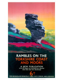 Rambles on the Yorkshire Coast and Moors  LNER  c1923-1947