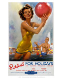 Butlin's for Holidays'  BR  c1960