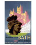 The Historic City of Bath  BR (WR)  c1958