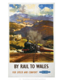 By Rail to Wales  BR  c1960