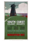 South Coast Holiday Resorts  LBSCR  c1915